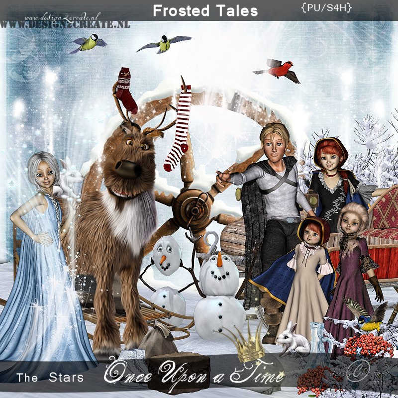 Once upon a time/ Frosted Tales