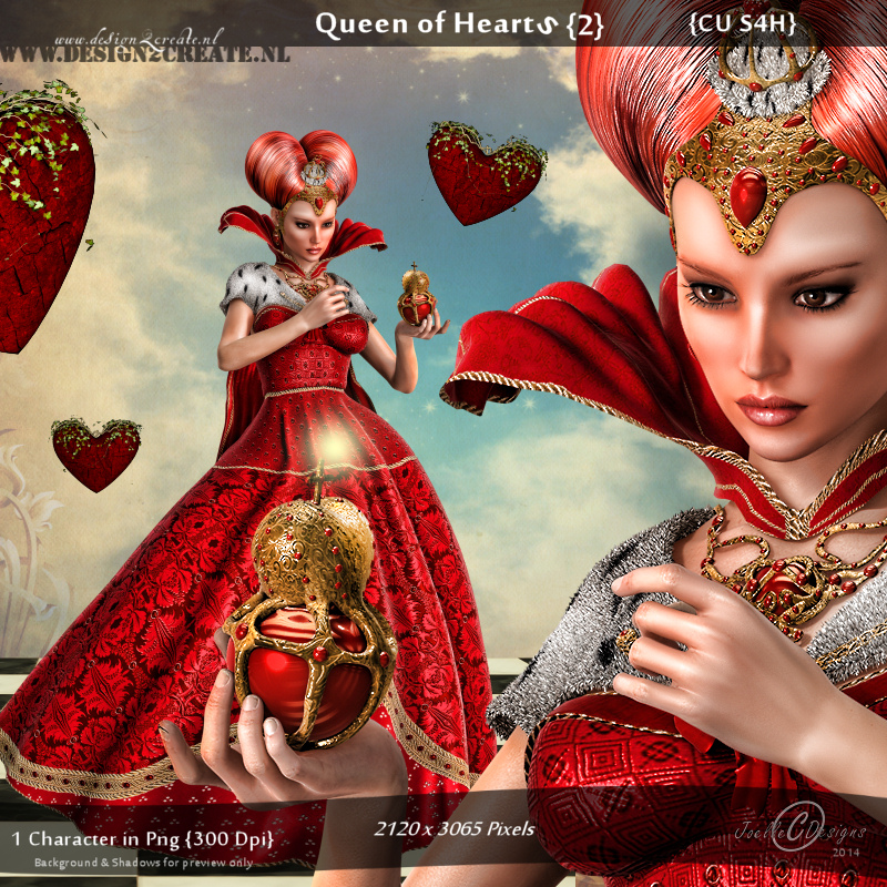 CU Queens of Hearts {2}